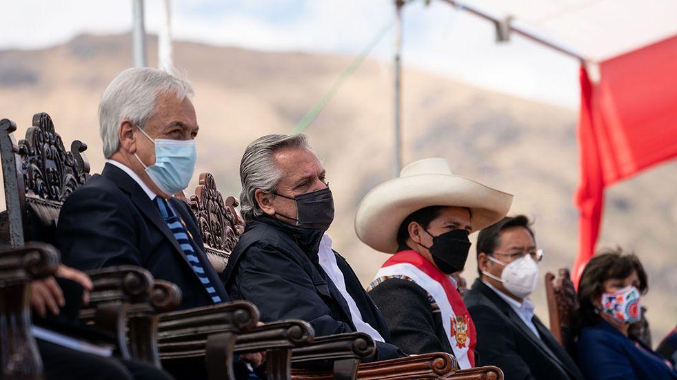 Aislamiento preventivo para Alberto Fernández luego de su viaje a Perú