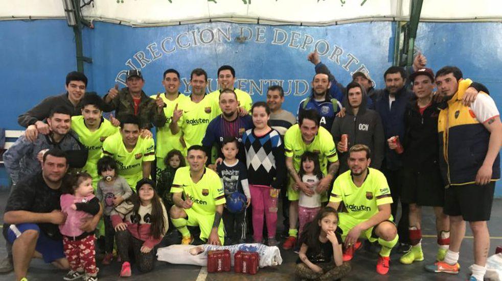 Torneo relámpago de Futsal en Tolhuin