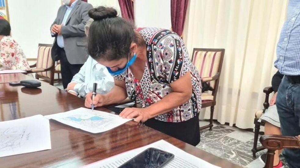 Después de años de conflictos, los pobladores de Colonia Pepirí accederán a la titularidad de las tierras donde viven