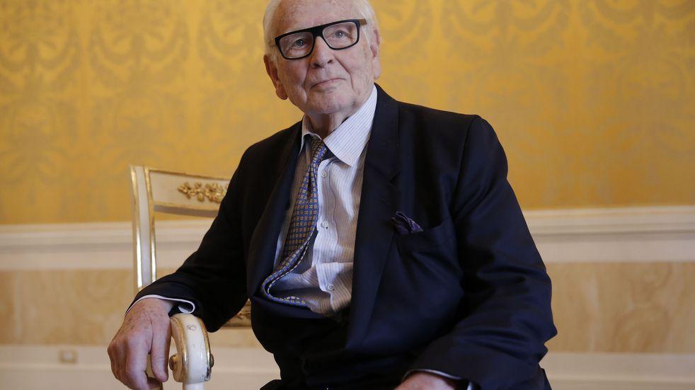 Falleció Pierre Cardin a los 98 años