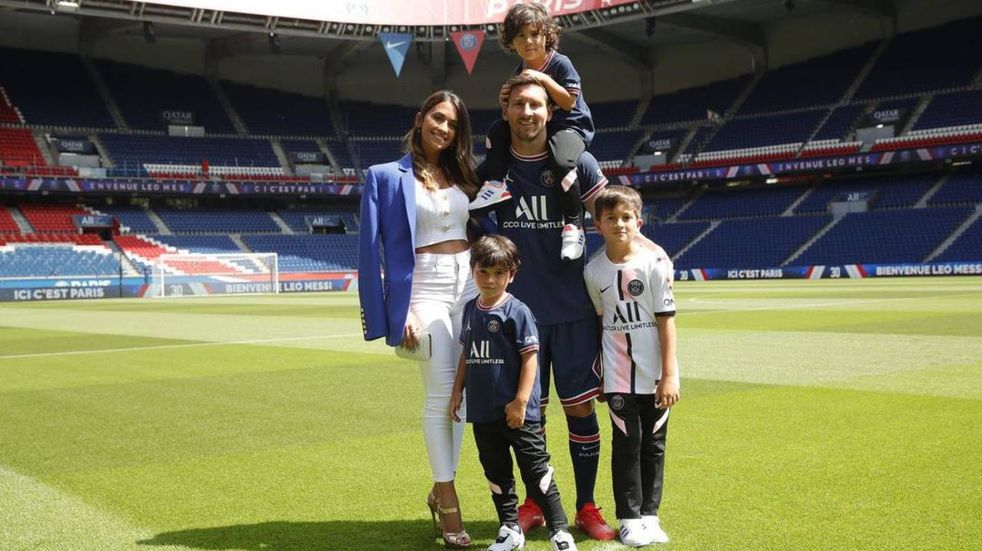 Lionel Messi disfrutó de su familia tras conmovedor festejo en el Monumental