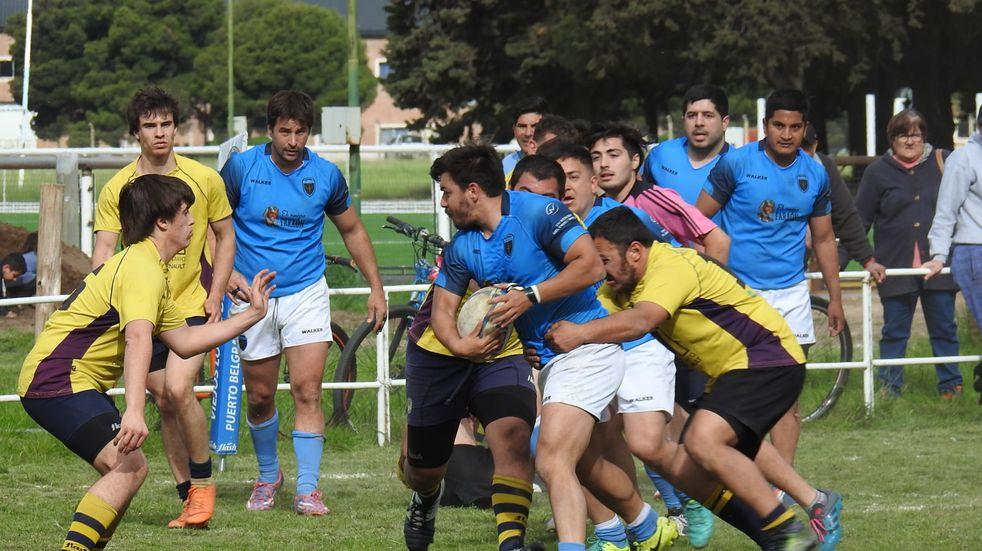 Puerto Belgrano obtuvo su primera victoria en el Ascenso.