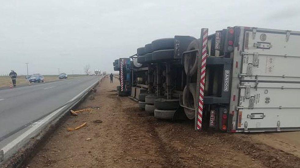 Accidente fatal en la Ruta 7: un camión aplastó a un hombre de 30 años