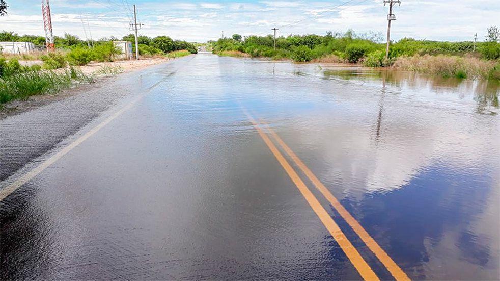 Continúa el alerta meteorológico para Entre Ríos y hay rutas inundadas