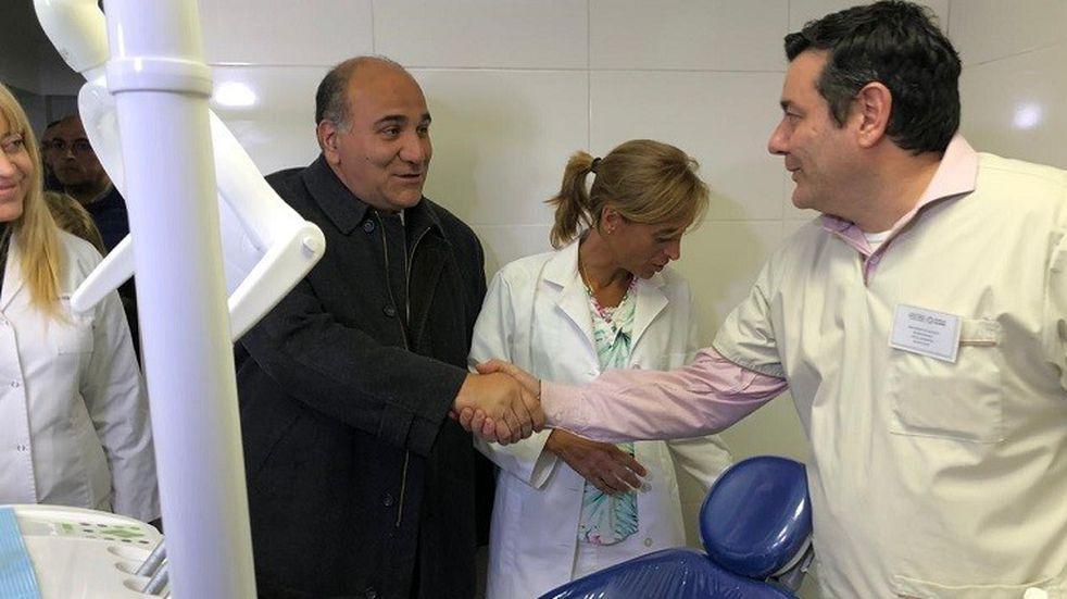 Manzur inauguró la moderna Policlínica de El Manantial