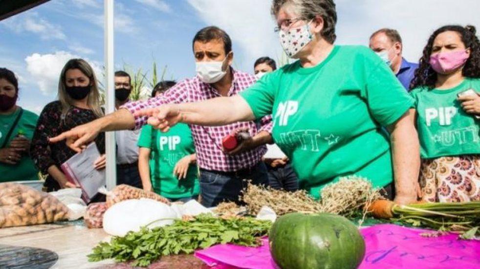 Herrera Ahuad destacó el trabajo de la agroecología en su paso por Puerto Piray