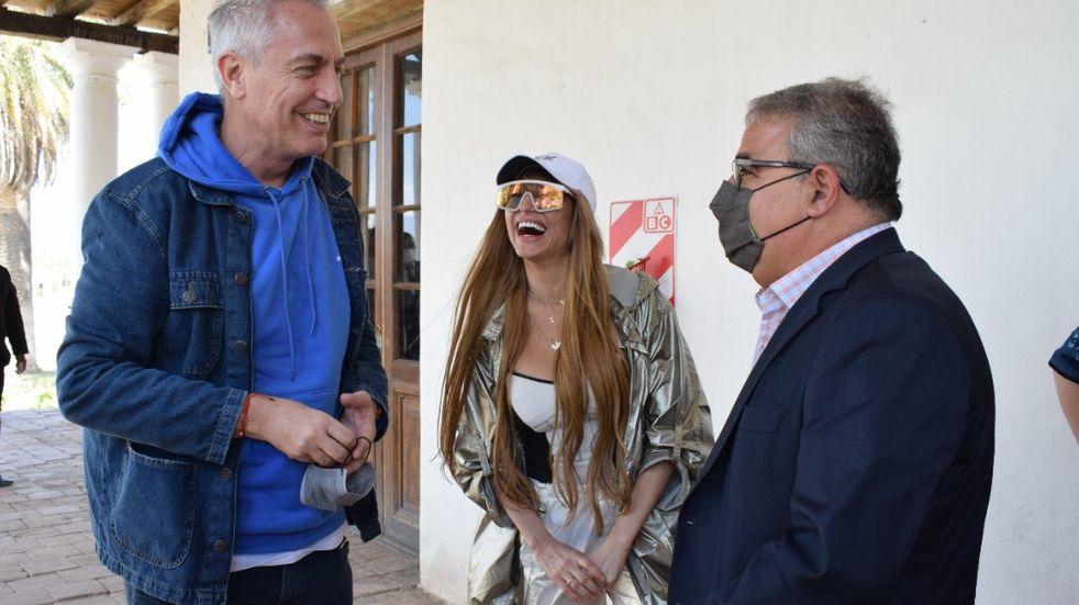 Marley visitó Catamarca.
