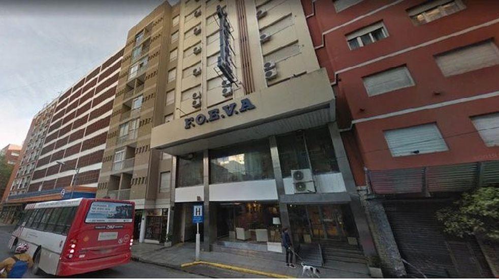Hotel FOEVA Mar del Plata (Foto: Twitter @TrabajoAr_info)