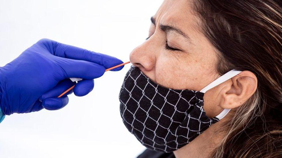 Coronavirus en Tucumán: una mujer de 64 años es el nuevo caso positivo. EFE/EPA/ETIENNE LAURENT