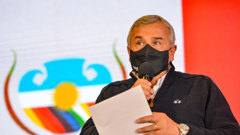 Gobernador Gerardo Morales, Frente Cambia Jujuy (FCJ).