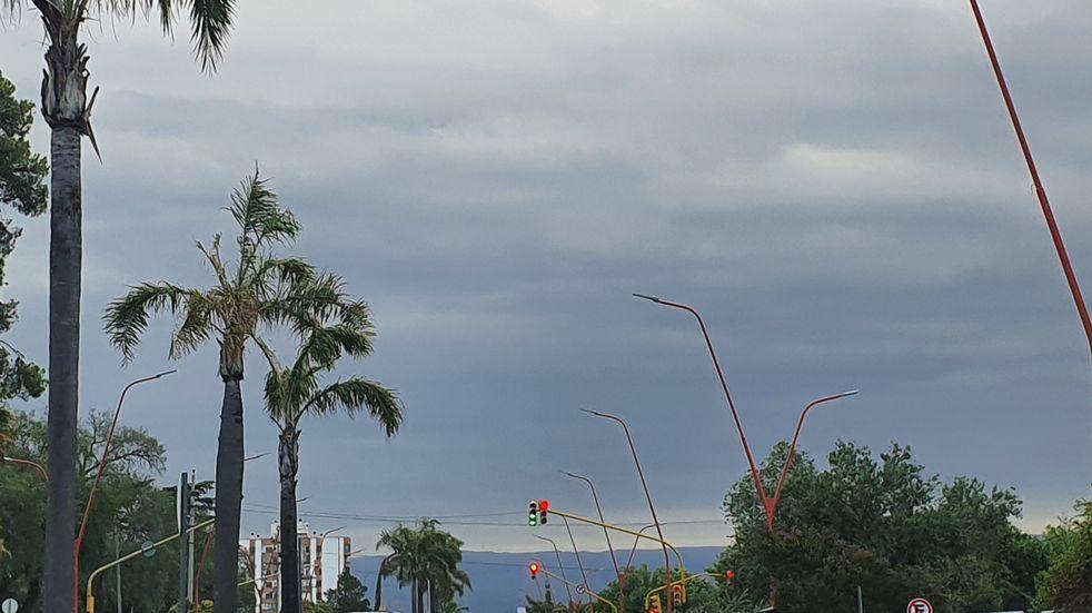 Jornada con amenaza de lluvias y tormentas en Villa Carlos Paz.