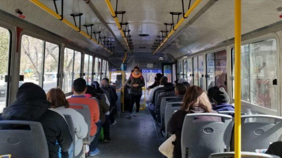 San Juan: las empresas de colectivo piden ampliar la cantidad de pasajeros