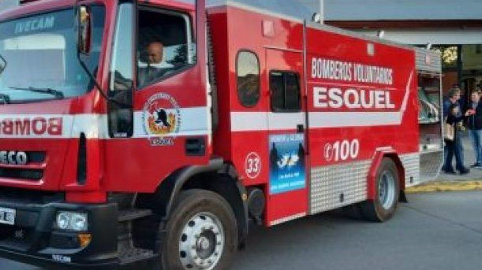 Dos incendios en cercanías al Arroyo Esquel