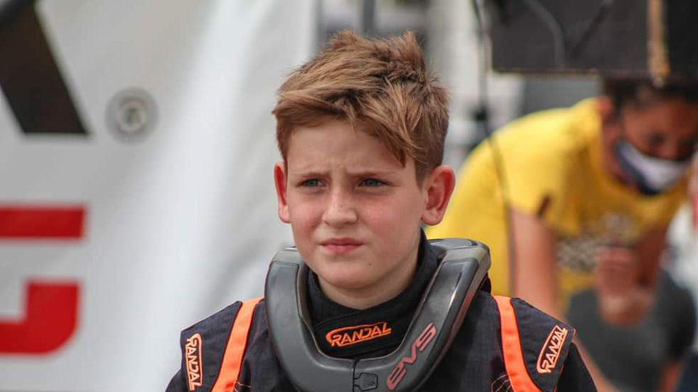 Fausto Arnaudo piloto de Karting de Arroyito