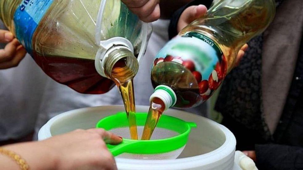 Promueven la reutilización de aceites vegetales en Guaymallén