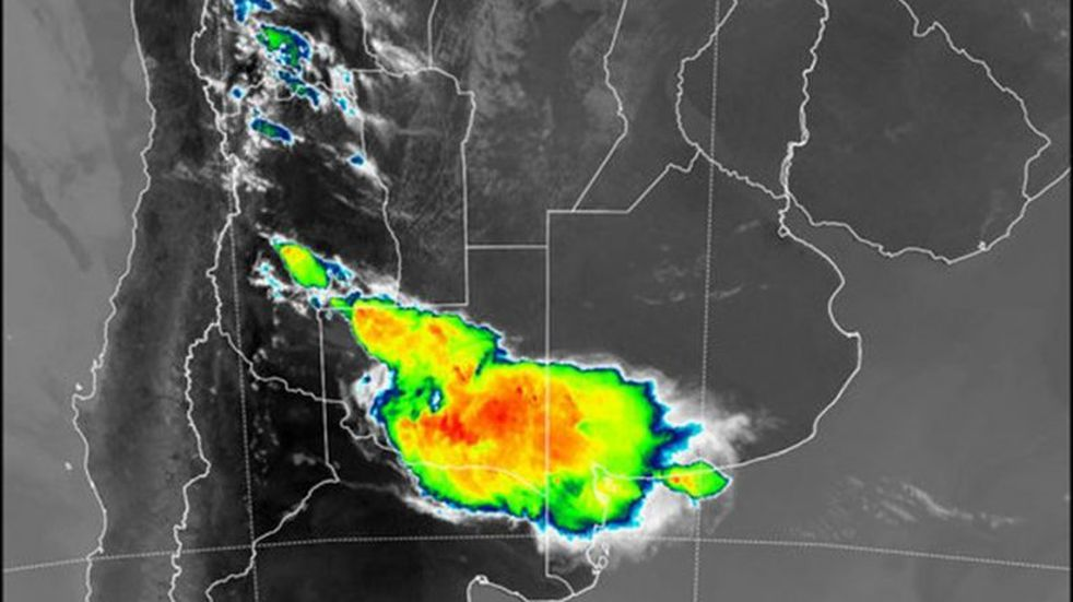 Rige un alerta meteorológica en Punta Alta y la zona