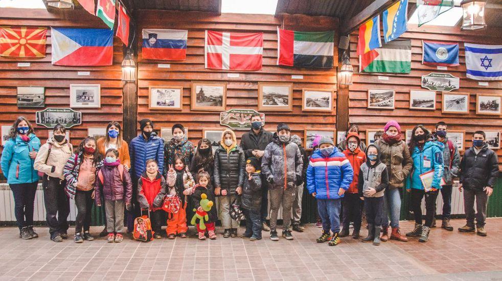 Niños de la ciudad participaron de una nueva jornada de Turismo Social