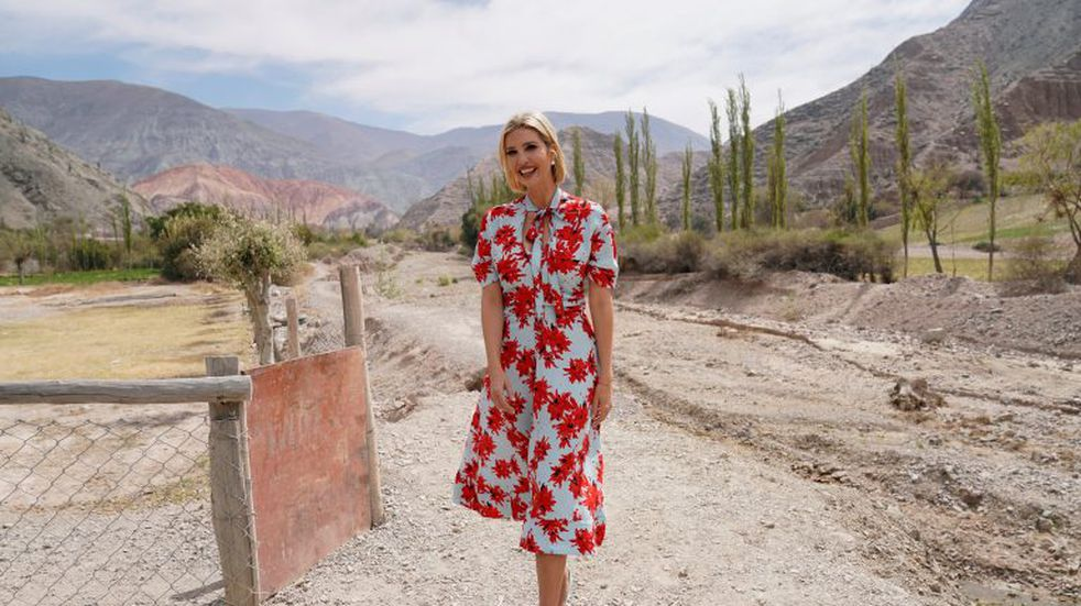 El imperdible álbum de fotos de Ivanka Trump en Jujuy