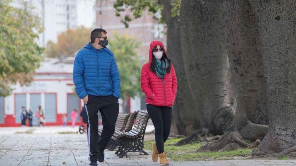 Rosario amaneció con temperatura bajo cero y pronóstico de domingo nublado