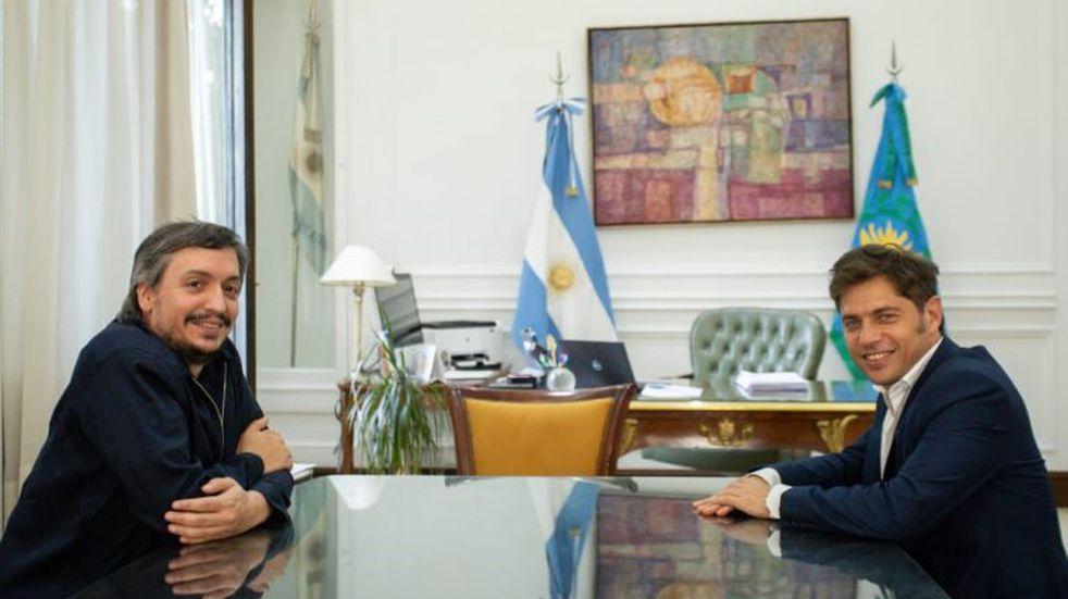 Kicillof recibirá a Máximo Kirchner junto a otros diputados del Frente de Todos