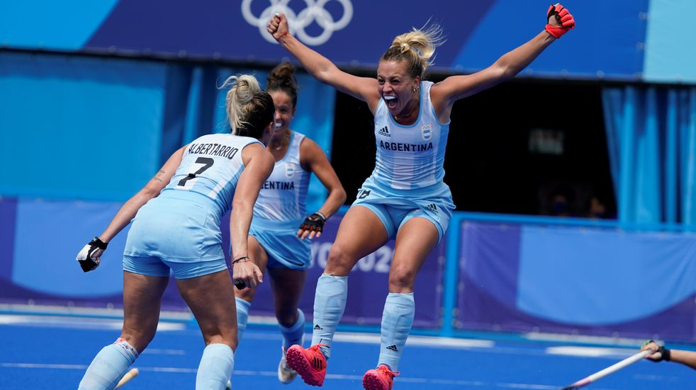 Juegos Olímpicos: las mejores fotos del triunfo de Las Leonas ante Alemania
