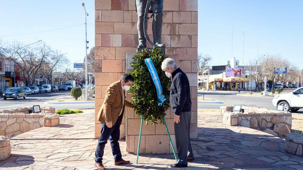 General Alvear le brindó un homenaje a las víctimas por covid-19