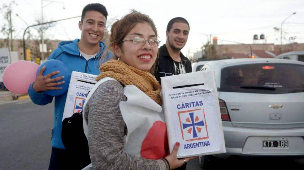 Cáritas Mendoza recaudó más de 14 millones de pesos para ayudar a los más necesitados