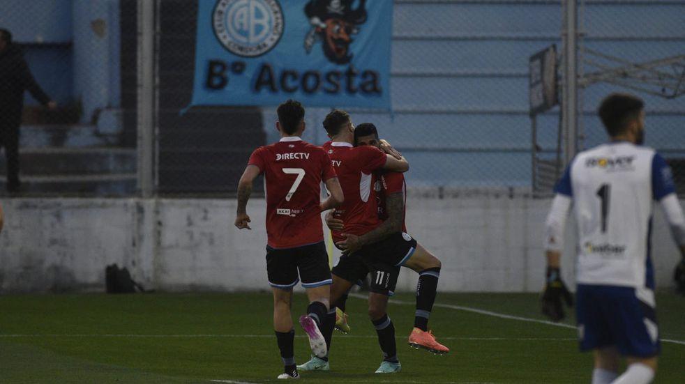 """Rocky Balboa, gol y figura en Belgrano: """"Hay que seguir por este camino y con perfil bajo"""""""