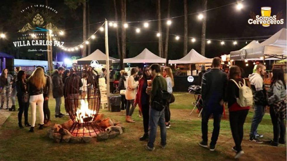 Continúa el Festival de la Cerveza en Carlos Paz