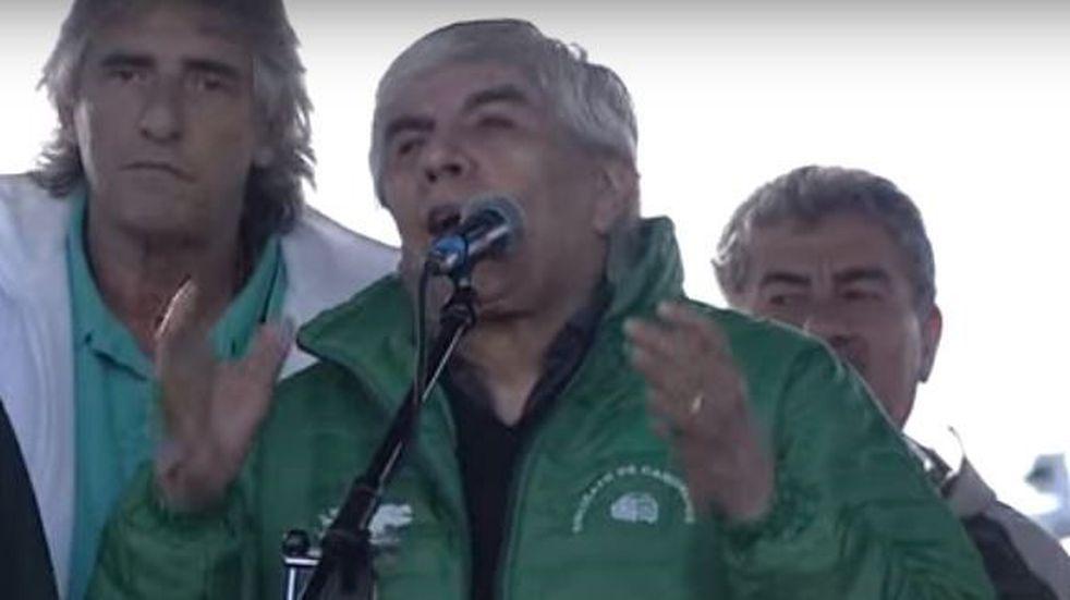 "Hugo Moyano: ""Lavagna no me convence como candidato presidencial"""