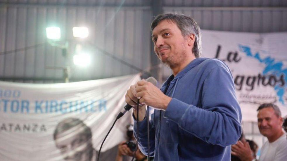 Un fiscal pidió el sobreseimiento de Máximo Kirchner y otros miembros de La Cámpora