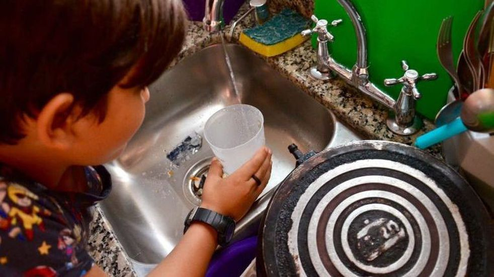 En Villa Atuel están sin agua potable