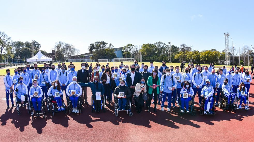 Elizabeth Noriega partió a Tokio con la delegación Argentina Paralímpica