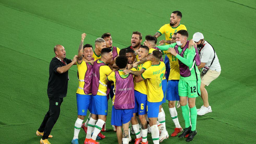 Juegos Olímpicos: Brasil se quedó con el oro al vencer 2-1 a España