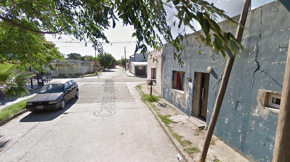 El hecho ocurrió en López Buchardo al 3300. (Google Street View)
