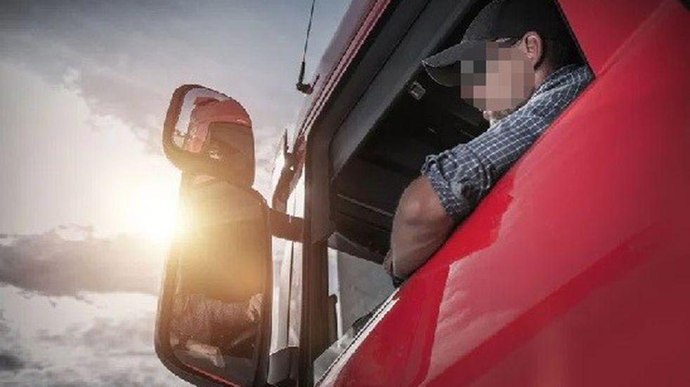Figuras extrañas fotografiadas por un camionero dejan interrogantes