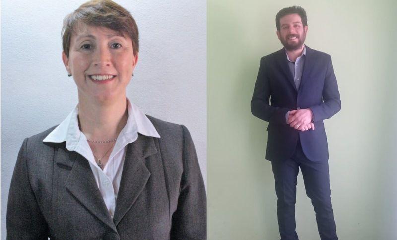 Rosana Cano y Leonardo Omar Montesino, referentes del NOS, se postulan por el Partido de los Jubilados.