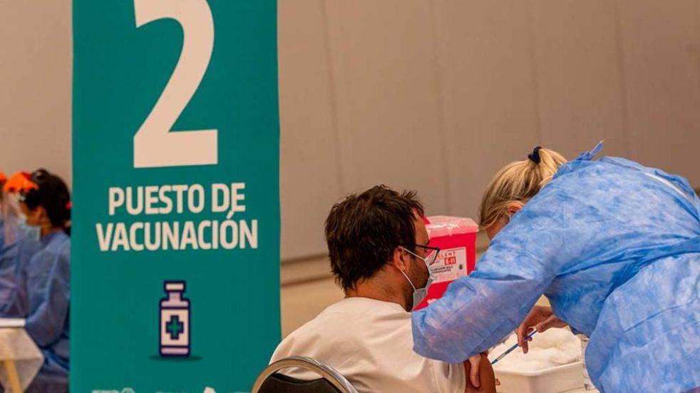 Vacunaron contra el COVID-19 a otras 2.882 personas en Córdoba