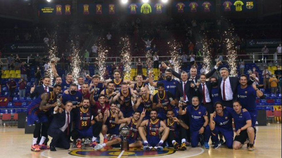 El Varillense Leandro Bolmaro se consagró Campeón de la Liga ACB con el Barcelona