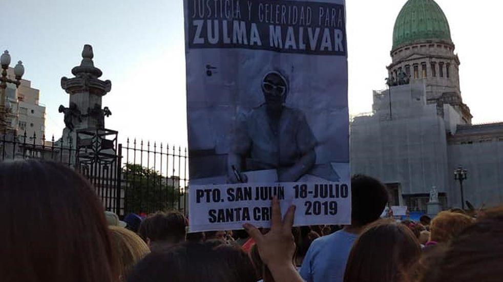 Marcha por el esclarecimiento del asesinato de la Dr. Zulma Malvar