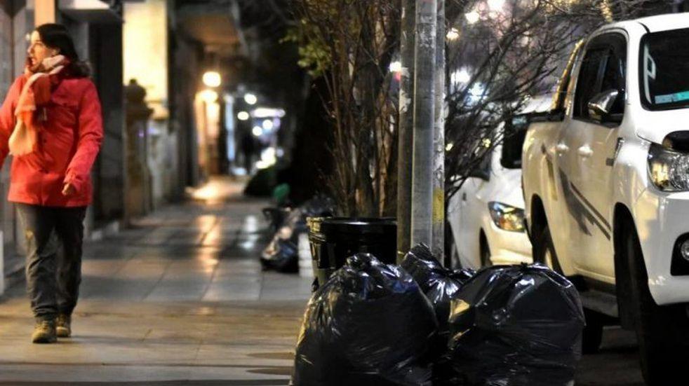 Suspendieron la recolección de residuos en Mar del Plata por una protesta de recicladores informales (Foto: Diario La Capital)