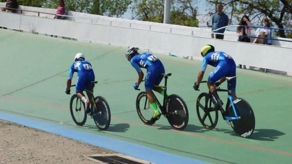 Ciclismo de pista. Juveniles de San Luis