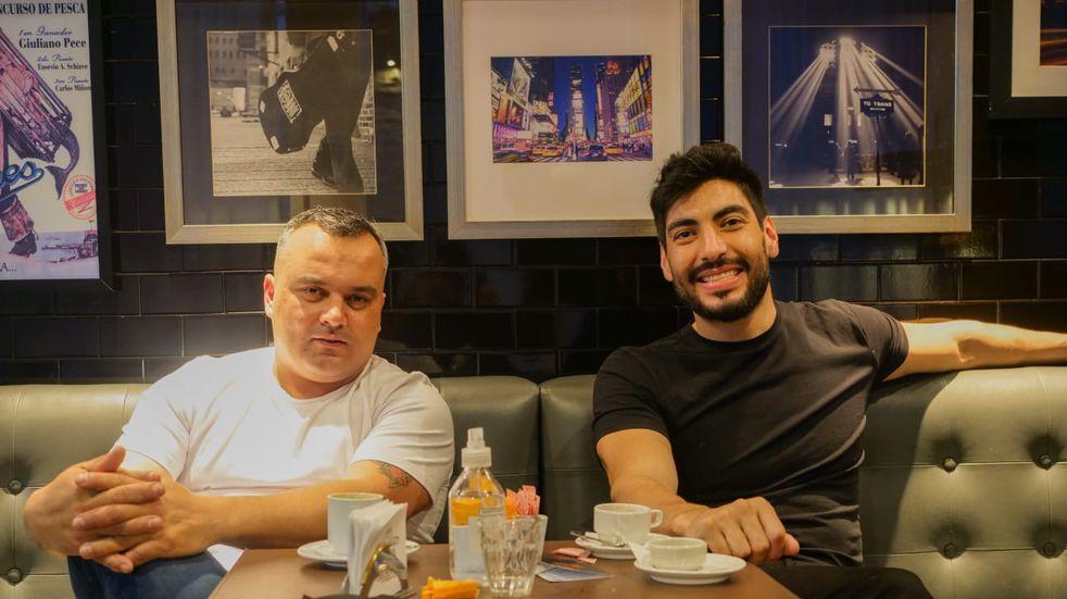 Facundo Moyano apoyó a los trabajadores hoteleros y se reunió con Pablo Santin