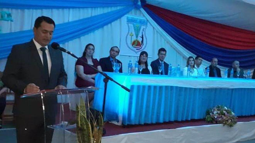 Bernardo de Irigoyen: Guillermo Fernández asumió su segundo mandato en la intendencia