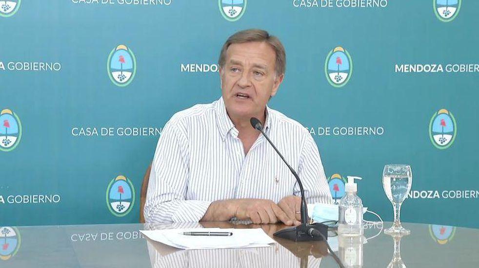 El gobernador Rodolfo Suarez convocó a los intendentes para analizar restricciones
