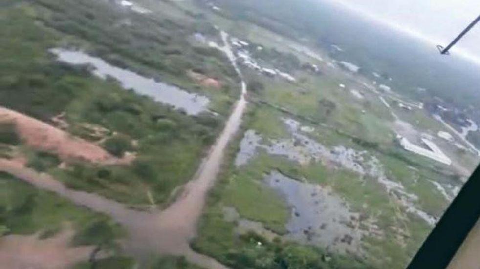 La zona rural de Los Juríes sigue con complicaciones por el temporal que azotó a la provincia