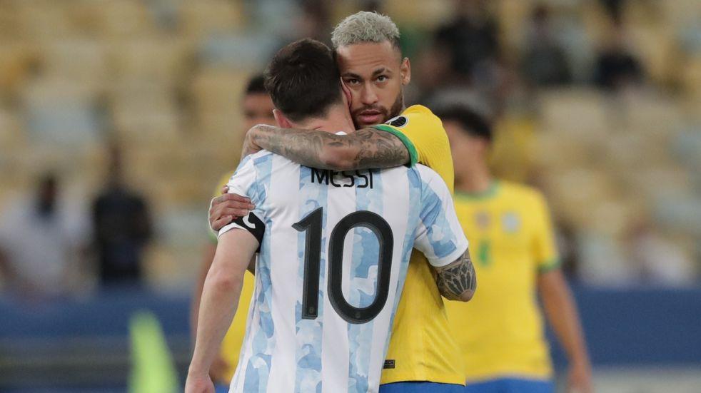 """Neymar le dedicó un mensaje a Messi: """"Odio perder pero el fútbol te estaba esperando para ese momento"""""""