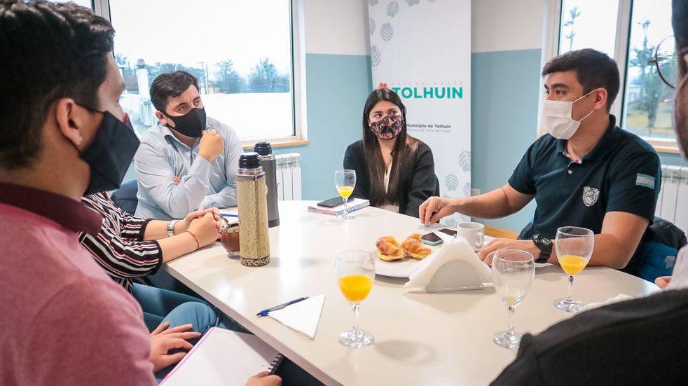 Tolhuin: el Municipio trabaja en acciones que fortalezcan el sector joven