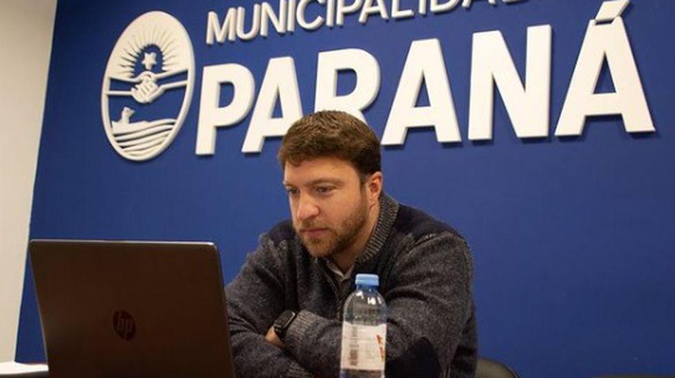 Nicolás Mathieu renunció a la Secretaría de Desarrollo Social del municipio de Paraná