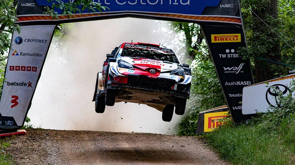 Rally Mundial: Rovanpera ganó en Estonia con Toyota